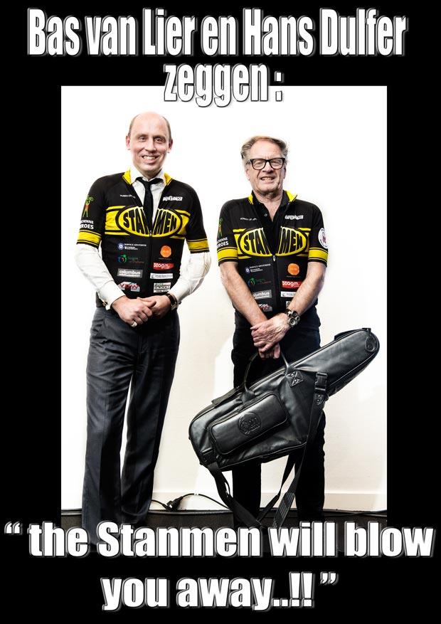Bas van Lier en Hans Dulfer